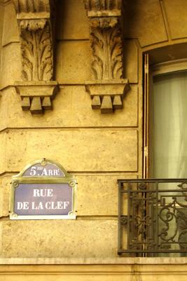 ruedelaclef